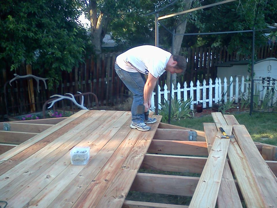 gazebo deck boards