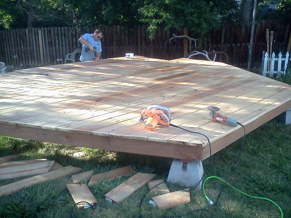 deck building installation