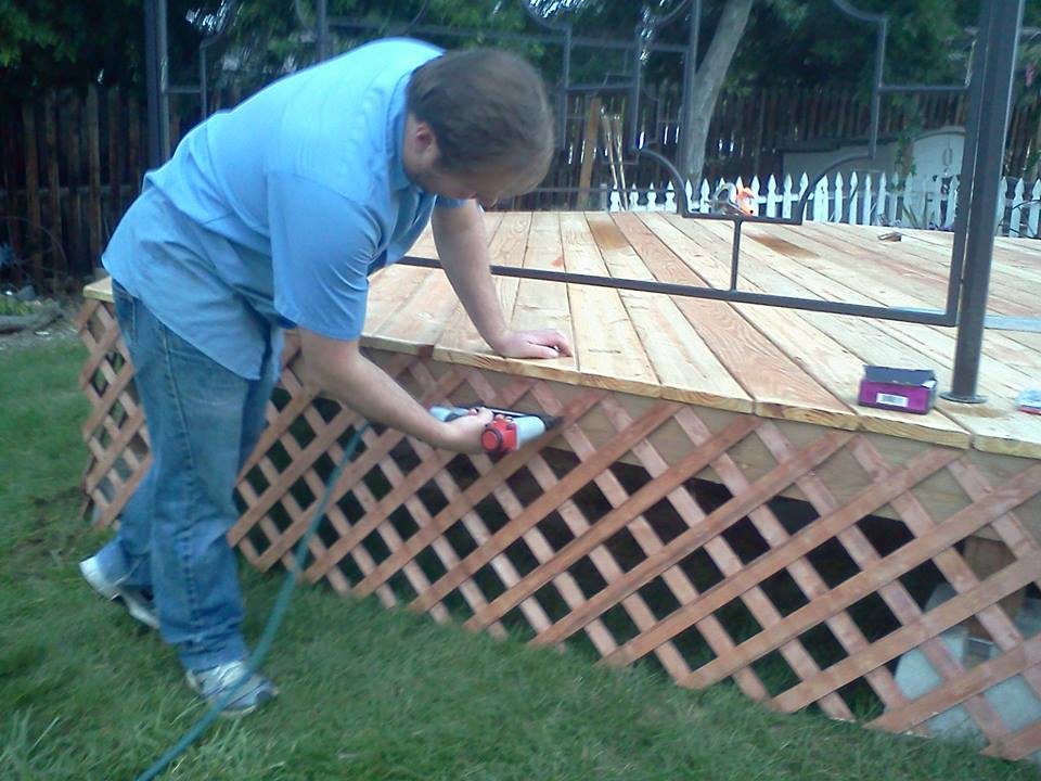 installing gazebo skirting