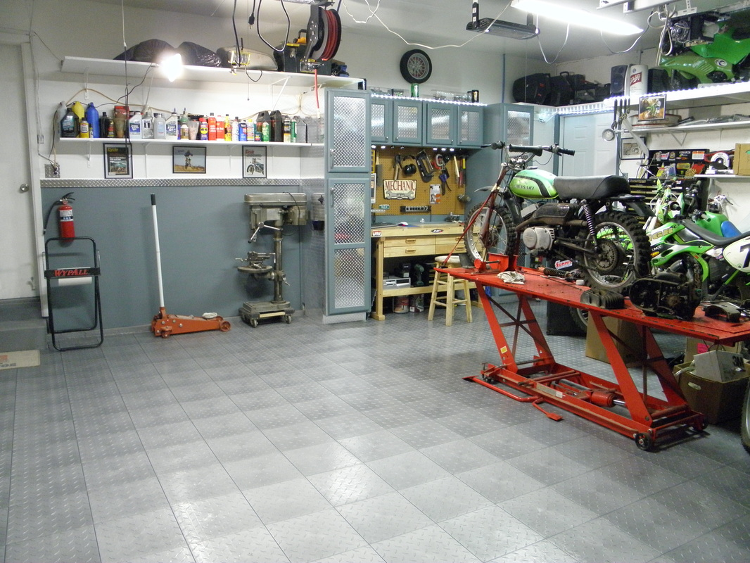 garage shop tour - Motorcycle How to and Repair
