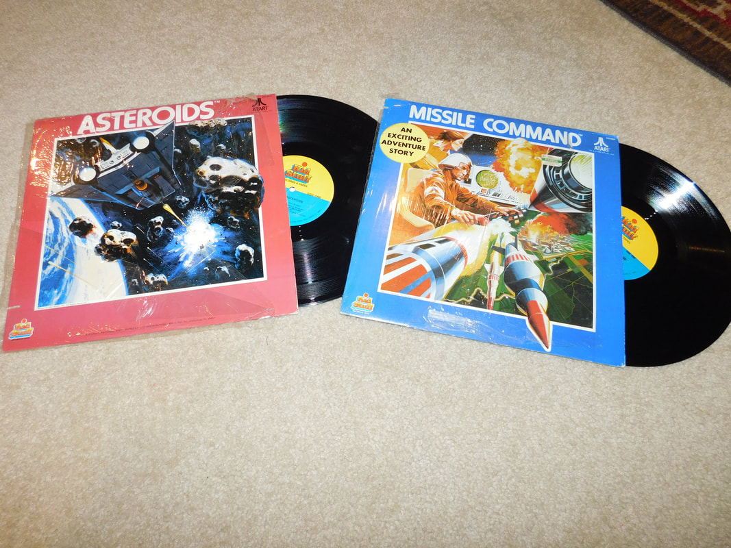 Kids stuff Atari Vinyl records