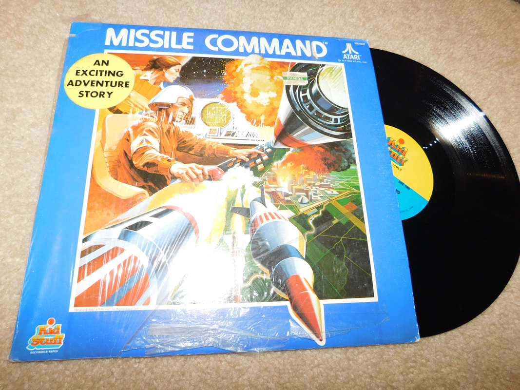 Kids stuff Atari Missile Command vinyl record