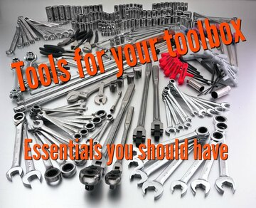 tools for your toolbox