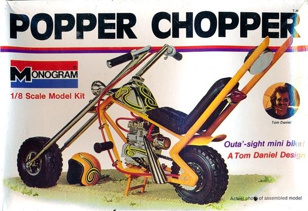 Mini Bike Junkyard : Popper chopper the junk man s adventures