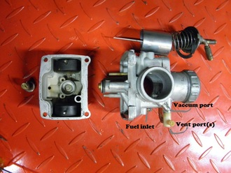 Kawasaki big horn carburetor