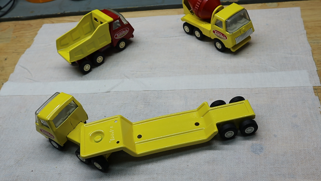 small tonka trucks