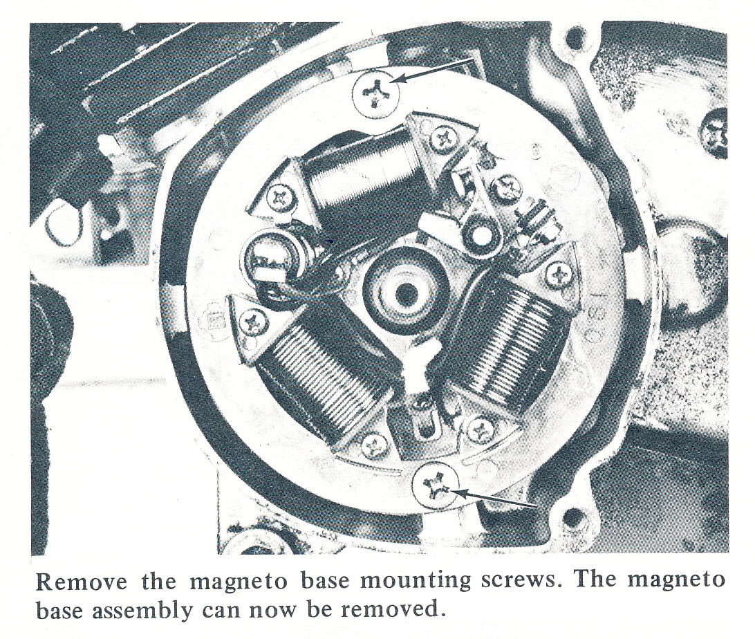 Servicemanuals The Junk Mans Adventures 1980 Kawasaki Ke100 Wiring Diagram Hodaka Ignition Stator
