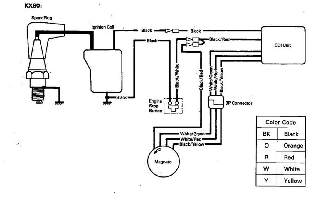 2 Stroke Wiring Diagram