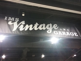 International Motorcycle Show vintage garage
